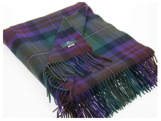 Isle of Skye Tartan Throw