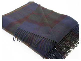 MacLeod of Harris Tartan Throw