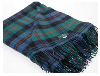Murray Ancient Tartan Throw