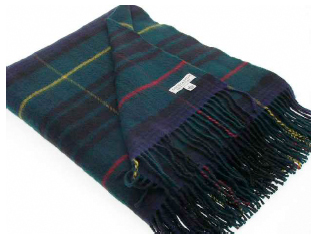 Stewart Hunting Tartan Throw