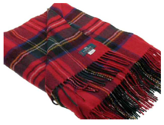 Stewart Royal Tartan Throw